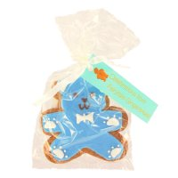 Image on Food blue teddy bear gingerbreads