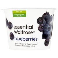 essential Waitrose blueberries snack pot