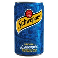 Schweppes lemonade single can