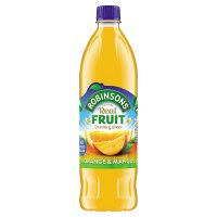 Robinsons no added sugar orange & mango squash