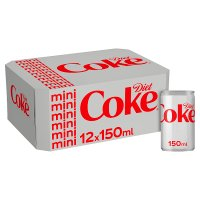 Diet Coke mixer multipack cans