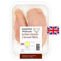 essential Waitrose 2 British chicken breast fillets