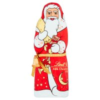 Lindt chocolate santa