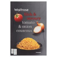 Waitrose tomato & onion couscous