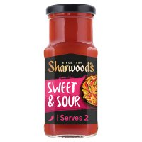 Sharwood's sweet & sour stir-fry sauce