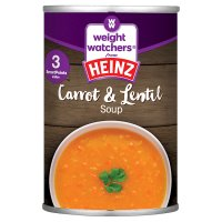 Weight Watchers from Heinz carrot & lentil soup