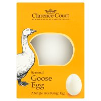 Clarence Court British seasonal free range goose egg