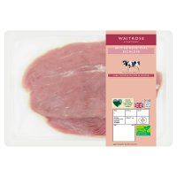 Waitrose 1 British veal escalopes