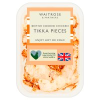 Waitrose British roast chicken tikka pieces