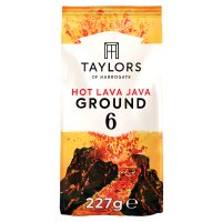 Taylors hot lava Java extreme coffee