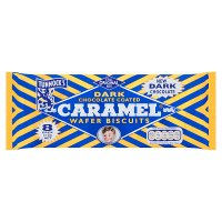 Tunnock's dark caramel wafer biscuits