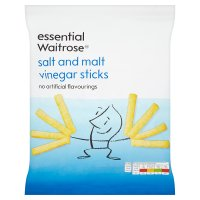essential Waitrose salt & malt vinegar sticks