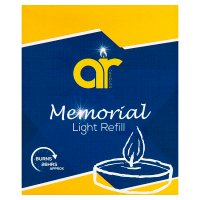 Memorial light refill