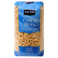 East End chick peas