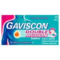 Gaviscon double action 32 tablets