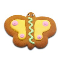 Gingerbread butterfly