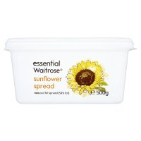 essential Waitrose sunflower spread