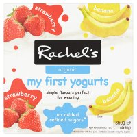 Rachel's organic my first yogurt