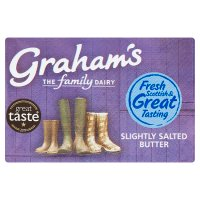 Graham's Scottish slightly salted butter