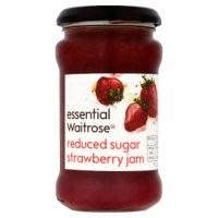 Waitrose reduced sugar strawberry jam