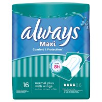 Always maxi normal plus with wings