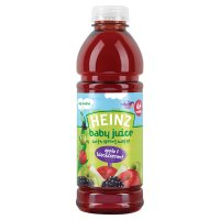 Heinz apple & blackcurrant pure juice