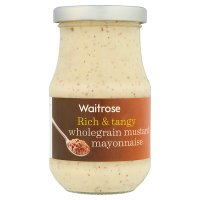 Waitrose wholegrain mustard mayonnaise