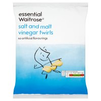 essential Waitrose salt & malt vinegar twirls