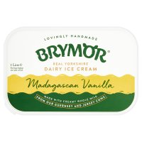 Brymor vanilla ice cream