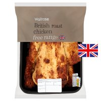 Waitrose Free Range British whole roast chicken