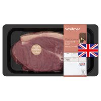 Waitrose Hereford beef rump steak