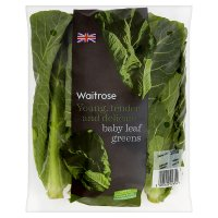 Waitrose baby leaf greens