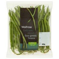 Waitrose fine green beans