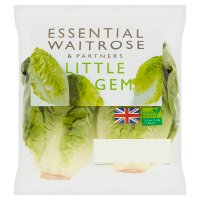 essential Waitrose little gem lettuce