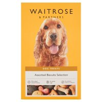 Waitrose special recipe biscuits for dogs