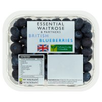 essential Waitrose blueberries