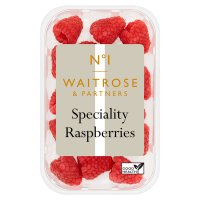 Waitrose speciality raspberries