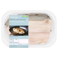 Waitrose 2 lemon sole fillets