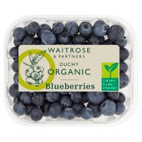 Waitrose Organic blueberries