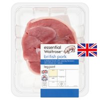 essential Waitrose British pork leg joint