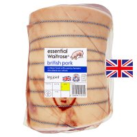 essential Waitrose British Outdoor Bred pork large leg roast