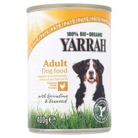 Yarrah dog food chicken pâté