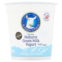 St Helen's Farm natural goats milk yogurt