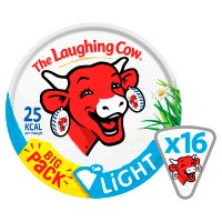 The Laughing Cow light, 16 triangles