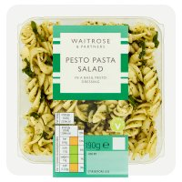 Waitrose pesto, spinach & pine nut pasta salad