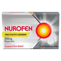 Nurofen 12 meltlets, lemon