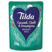 Tilda steamed coconut chilli & lemongrass basmati rice