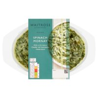 Waitrose spinach mornay