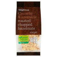 Waitrose roasted chopped hazelnuts