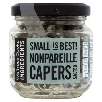 Waitrose Cooks' Ingredients salted nonpareille capers